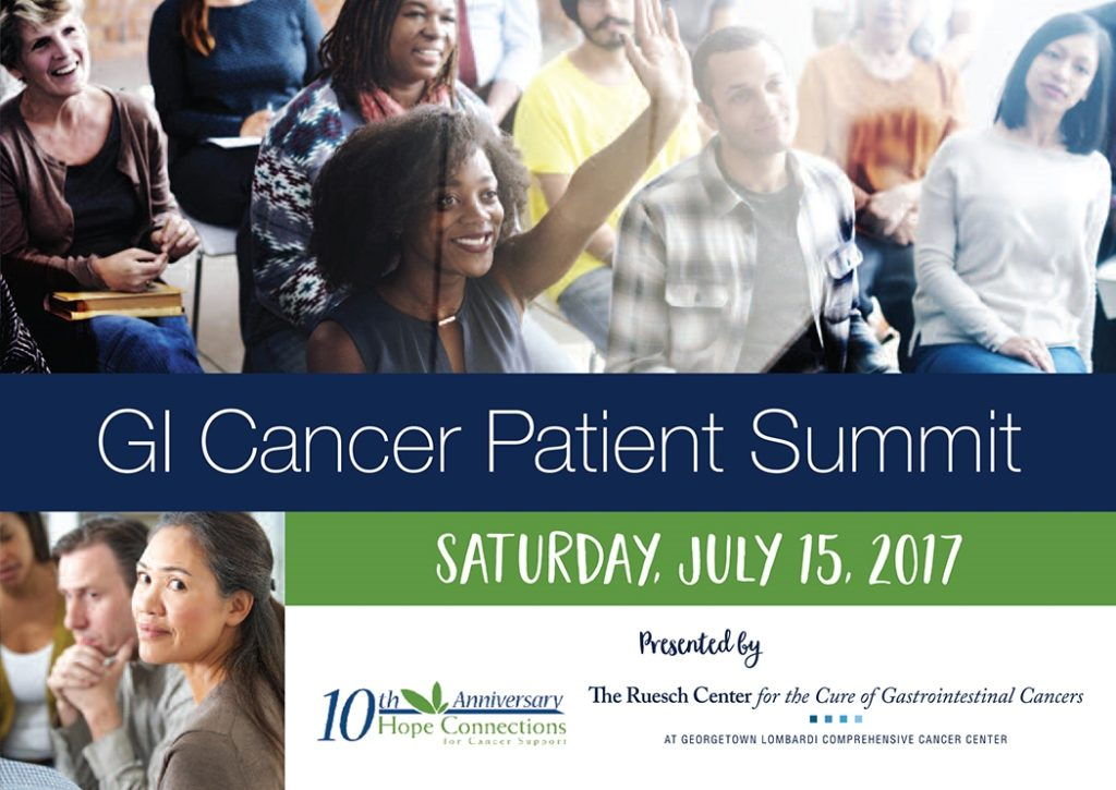 GI Cancer Patient Summit: July 15, 2017